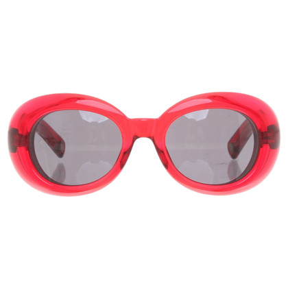 Marc Jacobs Sonnenbrille in Rot