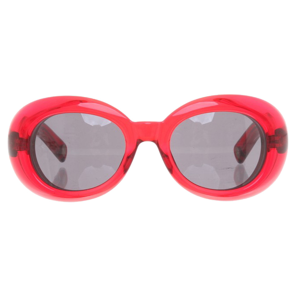 marc jacobs sonnenbrille in rot second hand marc jacobs. Black Bedroom Furniture Sets. Home Design Ideas
