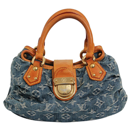 "Louis Vuitton ""Pleaty Satchel Monogram Denim"""