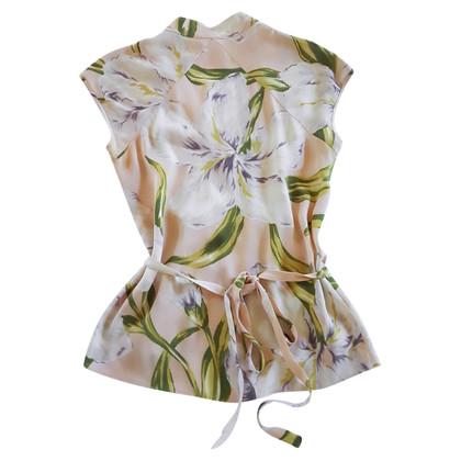 Diane von Furstenberg Bluse mit floralem Muster
