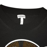 Loewe Pullover mit Strasssteinen