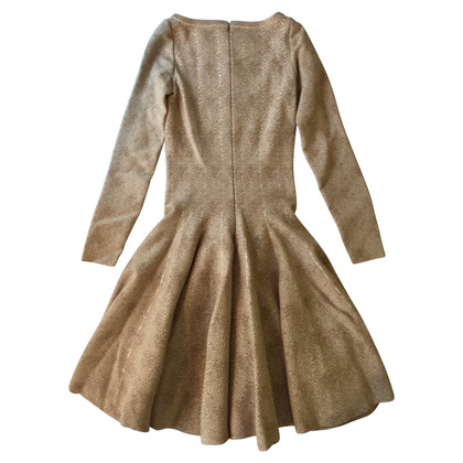 Alaïa Beige wool dress 42 FR