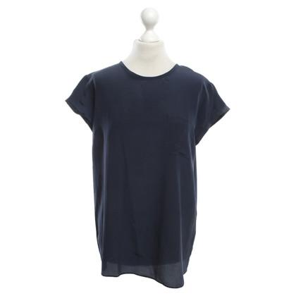 Andere merken Robert Friedman - zijden blouse in donkerblauw
