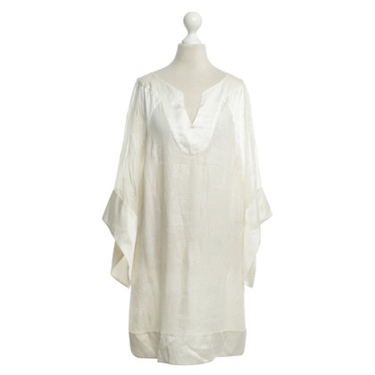 Halston Heritage Tunic in cream