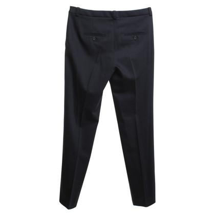 Jil Sander pantaloni classici in nero
