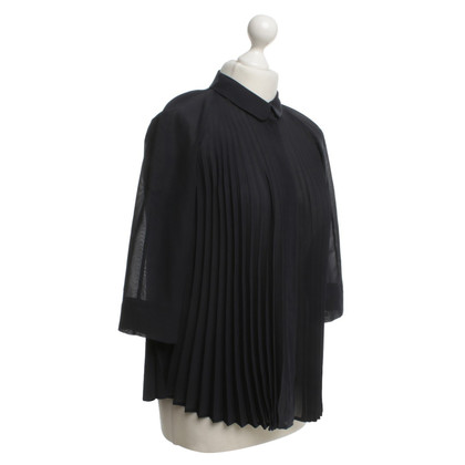 Cos Blouse with Pleated Pleats
