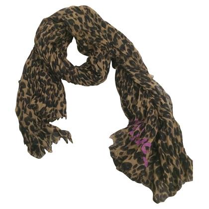 Louis Vuitton Leopard print scarf