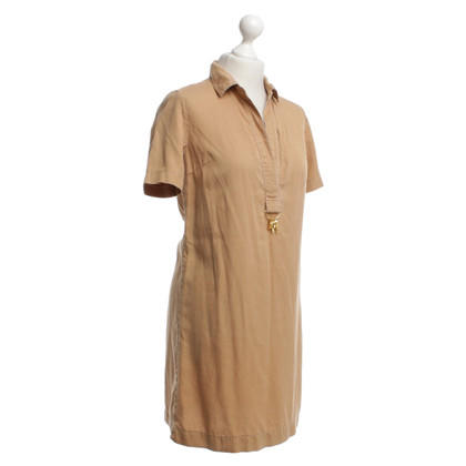 Sandro Blouse dress in ocher