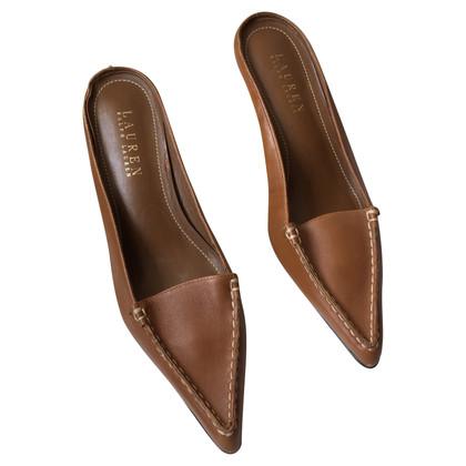 Ralph Lauren Mules in bruin