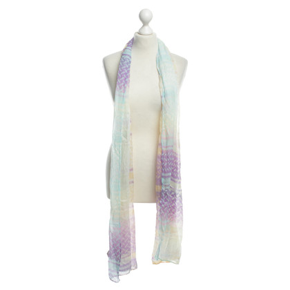 Lala Berlin Scarf with colourful patterns
