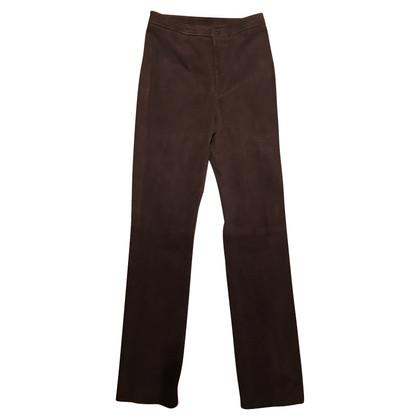 Ralph Lauren trousers suede