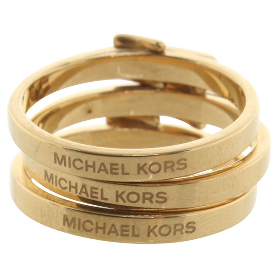 Michael Kors Golden rings - Buy Second hand Michael Kors Golden ...
