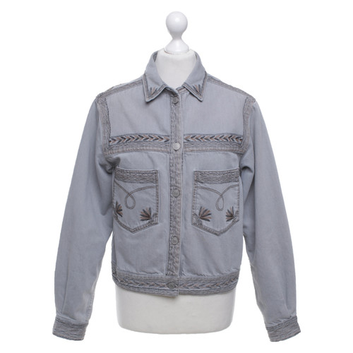 2f820c80151 Isabel Marant Etoile Denim jacket with embroidery - Second Hand ...