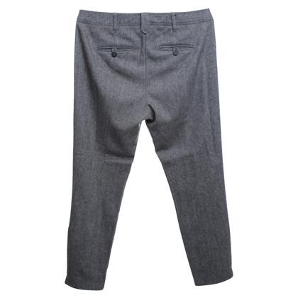 Windsor pantaloni chino in Nero / Bianco