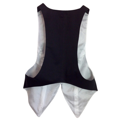 Acne Black vest