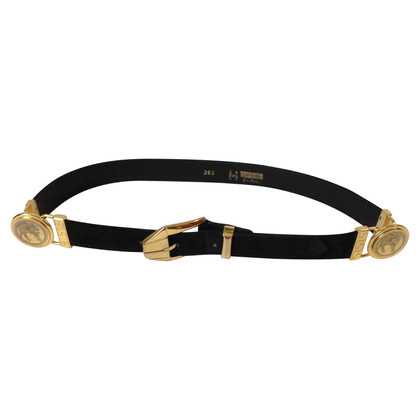 Gianni Versace Belt with gold buckle