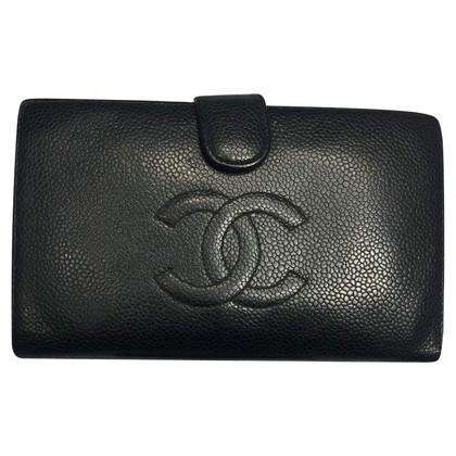 Chanel zwart portemonnee