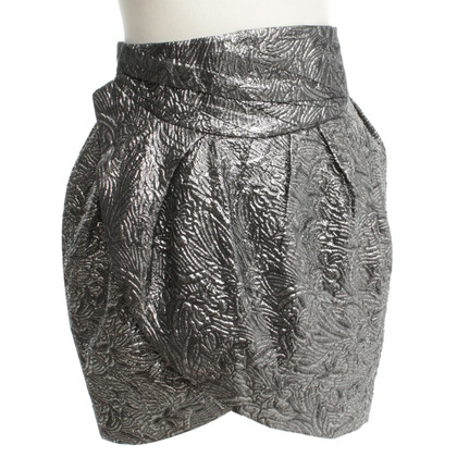Isabel Marant for H&M Wrap-around skirt with silver effect yarn