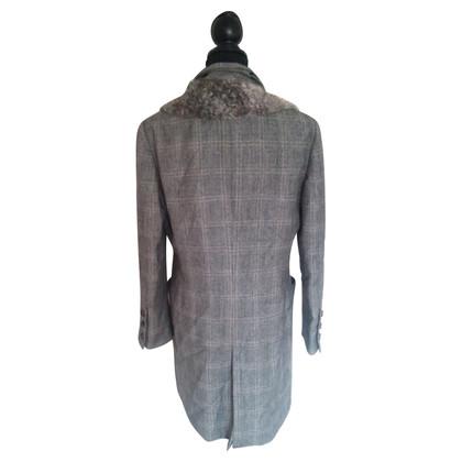 Ferre Coat with fur