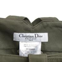 Christian Dior 3/4 trousers in Oliv