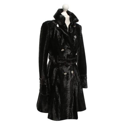 Karen Millen fluwelen mantel