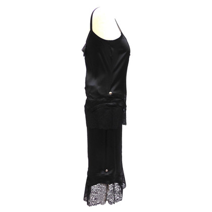 Christian Dior Two-piece silk ensemble