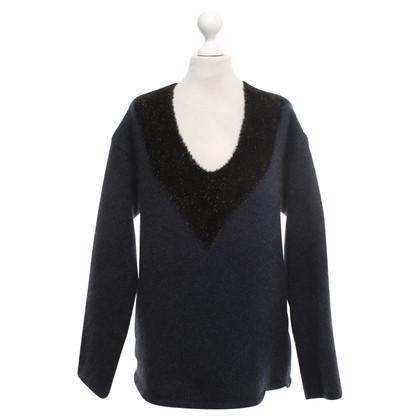 L'autre Chose Sweater in blue