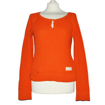 Odd Molly Orange Sweater met Cashmere