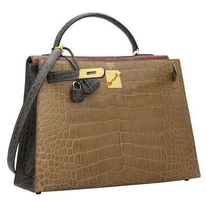 "Hermès ""Kelly Bag 32 Alligator Mississipiensis"""