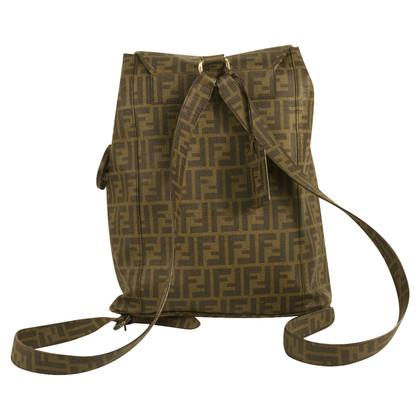 Fendi Brown Backpack