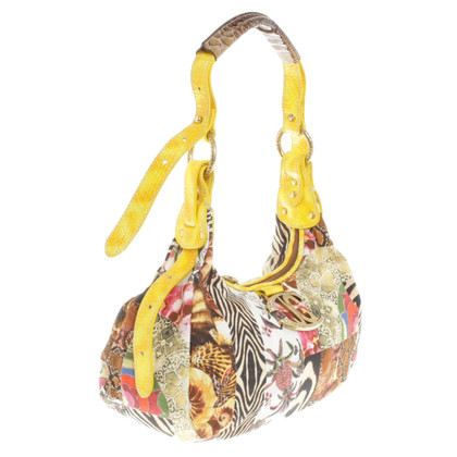 Just Cavalli Handtas met dessinmix