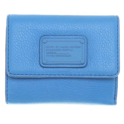 Marc by Marc Jacobs Blue leather wallet