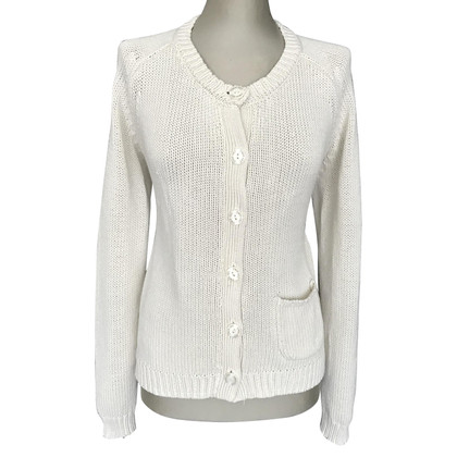 Twin-Set Simona Barbieri Strickjacke in Creme