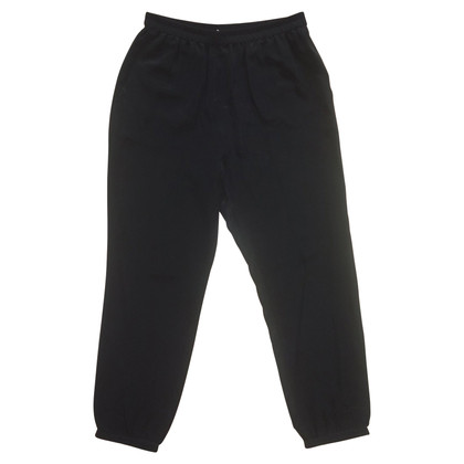 Schumacher Silk trousers in black