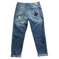 Maison Scotch Boyfriend jeans en look usé