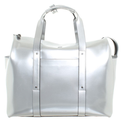 Other Designer Porsche Design - Silver colored travel bag