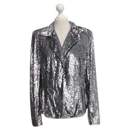 Marina Rinaldi Silver colored blazer