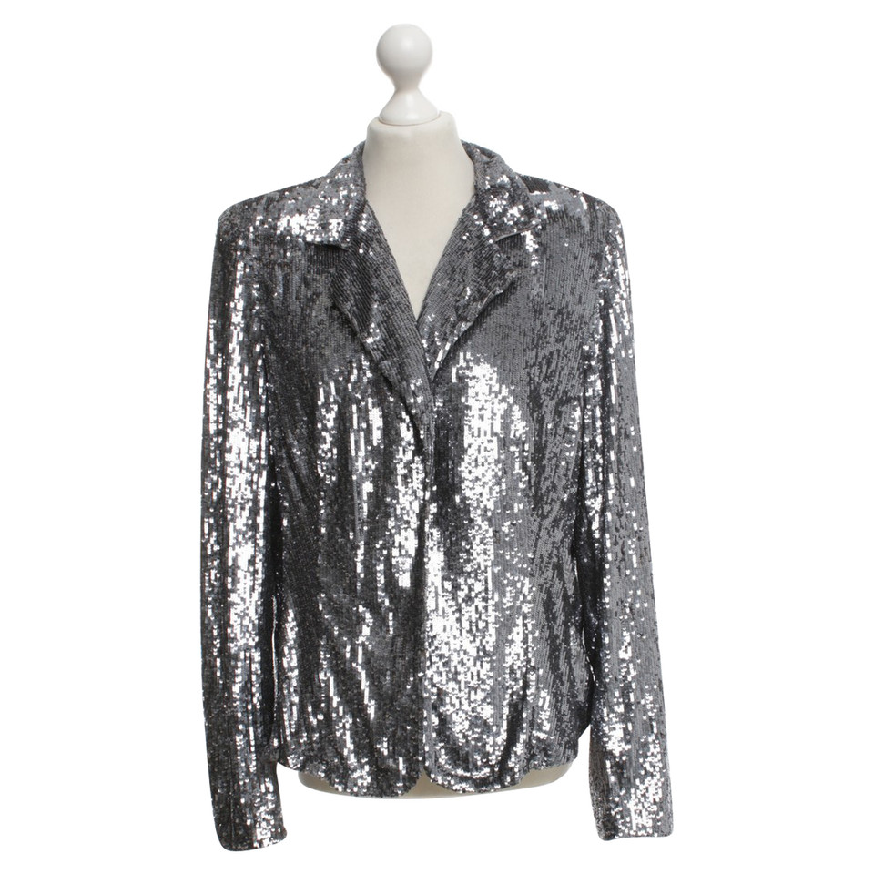 Marina Rinaldi Silver colored blazer