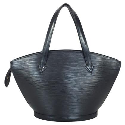 """Louis Vuitton """"Saint Jaques Epi Leather"""" in black"""