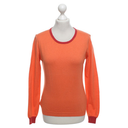 Hemisphere Sweater in orange / red