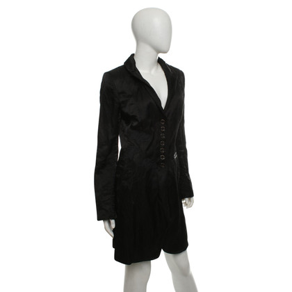 Airfield Coat in black