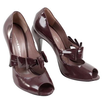 Altre marche Nicole Brundage - peep-dita dei piedi