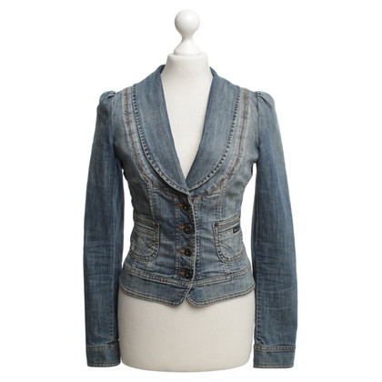 Dolce & Gabbana giacca di jeans nel look giacca