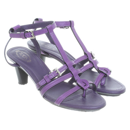 Hogan Strappy sandalen in paars