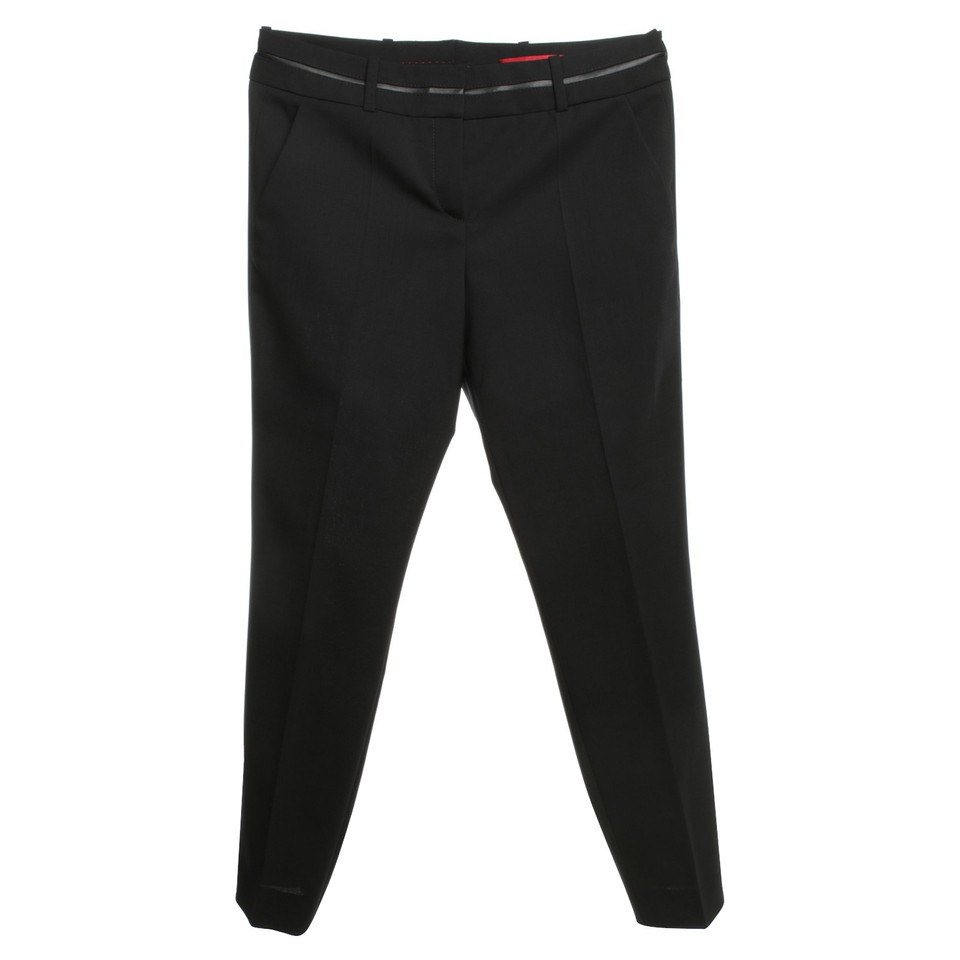 Hugo Boss trousers in black