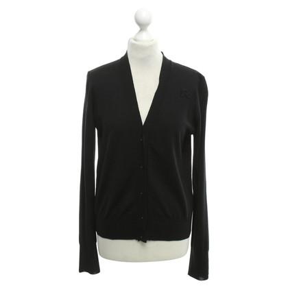 Rochas Cardigan in black