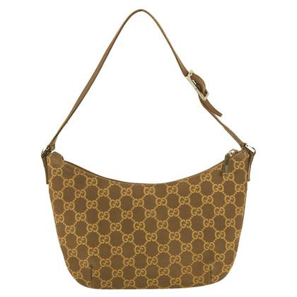 Gucci GG Monogram Brown  Pochette
