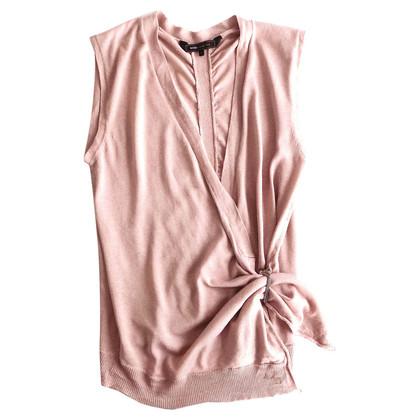 BCBG Max Azria Silk Vest
