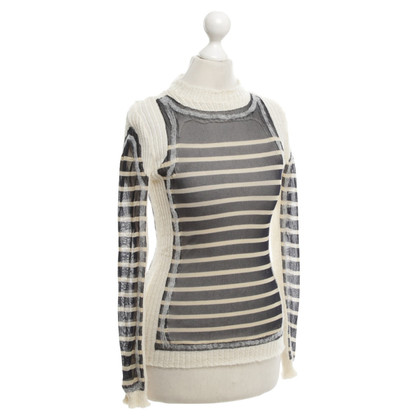 Jean Paul Gaultier jumper strip