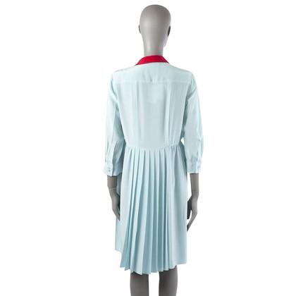 Miu Miu Silk dress with pleats